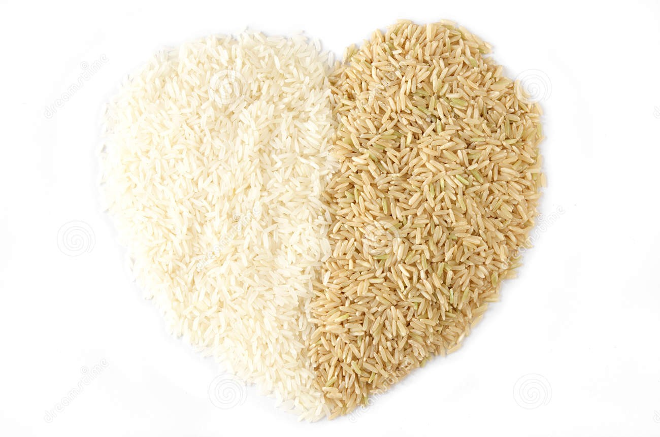 http://www.dreamstime.com/stock-image-white-rice-brown-rice-heart-image19739571