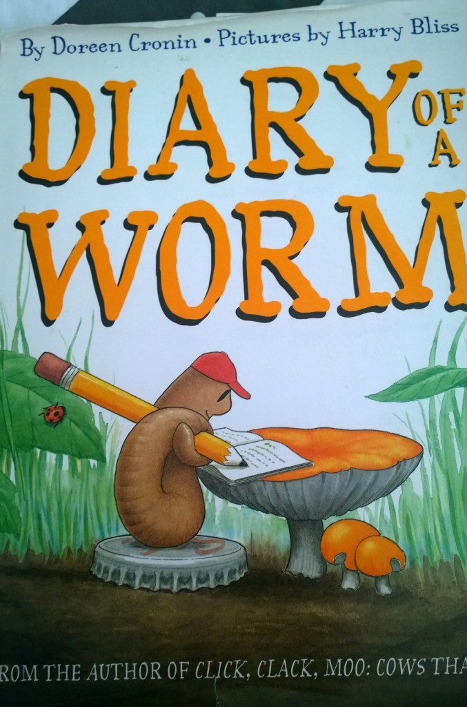 The Diary of a Worm is perfect for wiggly little PreKs, Kinders and 1st graders! They love the story of Worm and his telling of his Life as an Earth-dependent invertebrate.